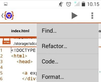 Cara Membuat Code Css, Javascript, Html tanpa Laptop/Komputer