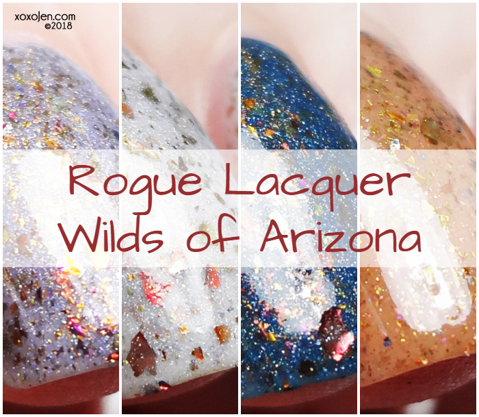xoxoJen's swatch of Rogue Lacquer  Wilds of Arizona Collection