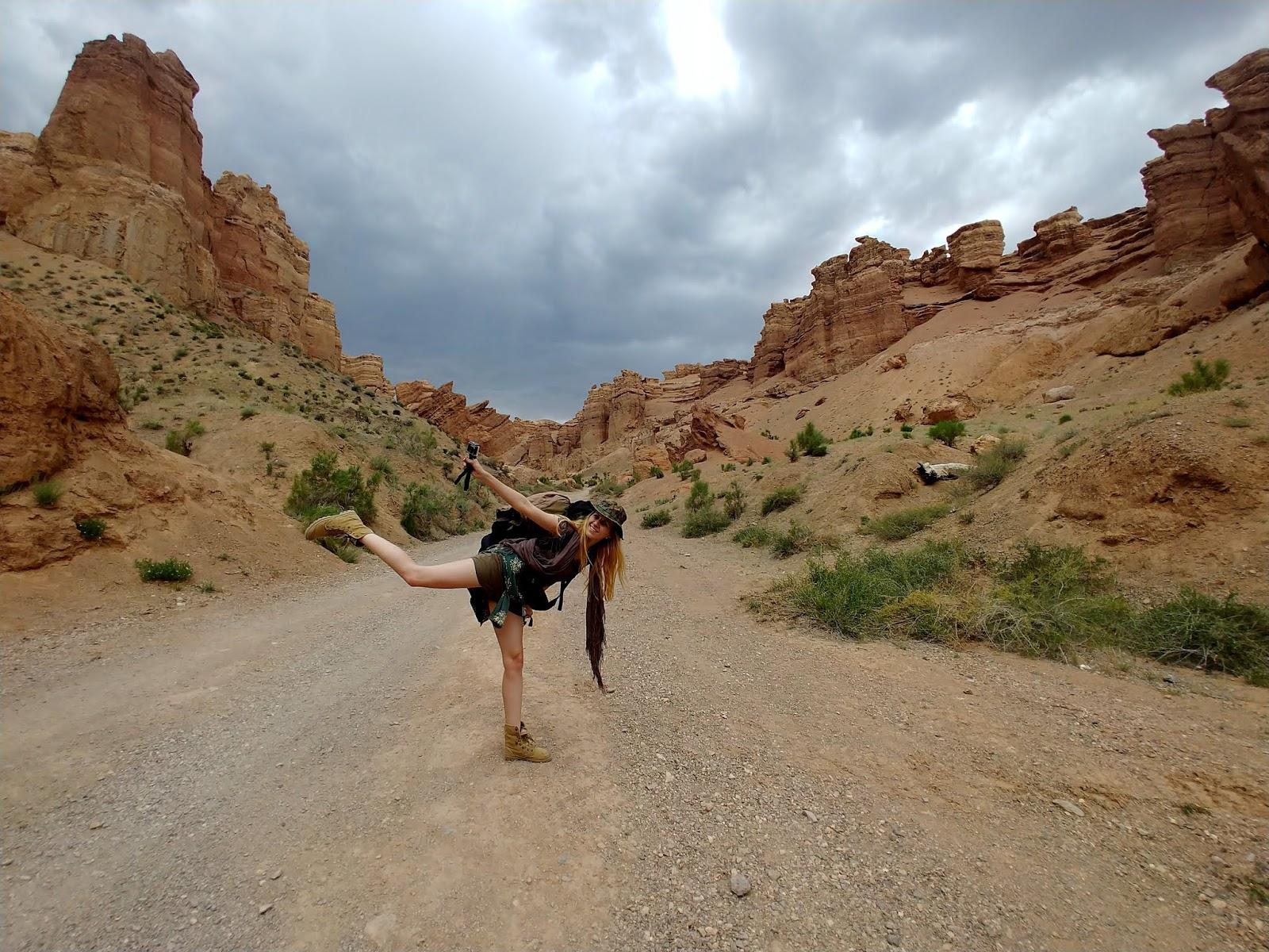 Charyn Canyon Kazachstan skały