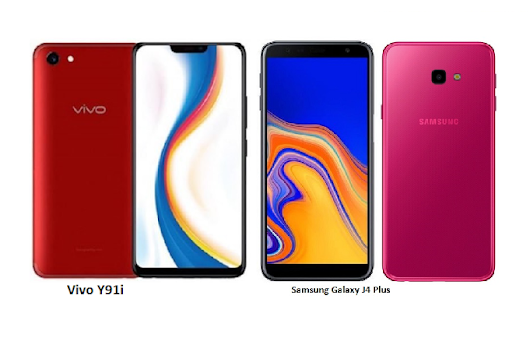 Vivo Y91i Vs Samsung Galaxy J4 Plus Comparisons