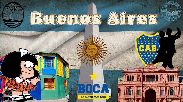 Tour Argentina - Magazine cover