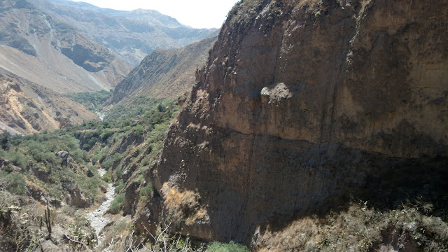 rugged Colca Canyon scenery