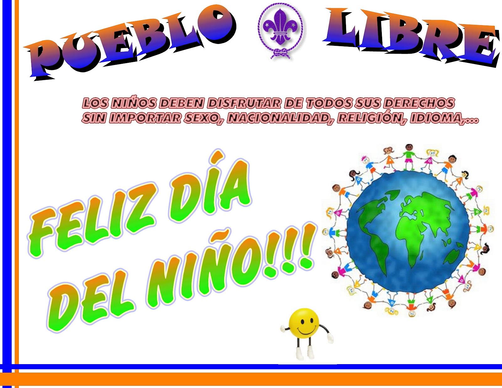 Grupo Scout Pueblo Libre Feliz Día Del Niño