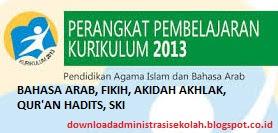 RPP Quran Hadis Mi Kurikulum 2013 Kelas 1, 2, 3, 4, 5, 6