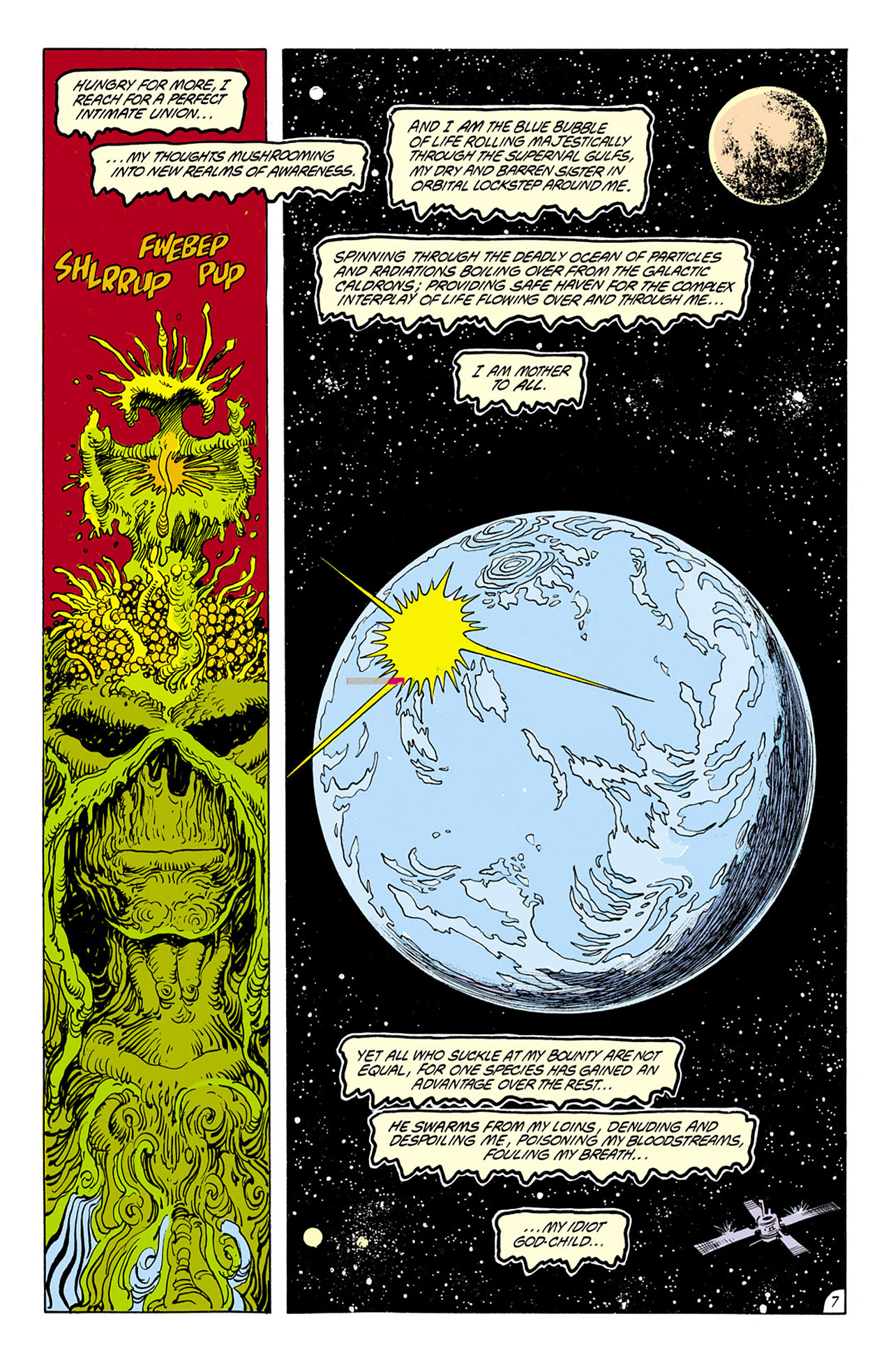 Swamp Thing (1982) Issue #75 #83 - English 8