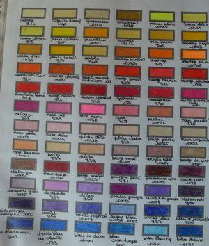 nuancier prismacolor premier crayons de couleur