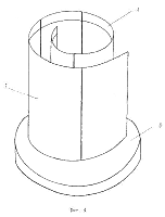 Kozyrev-Spiegel als Spirale