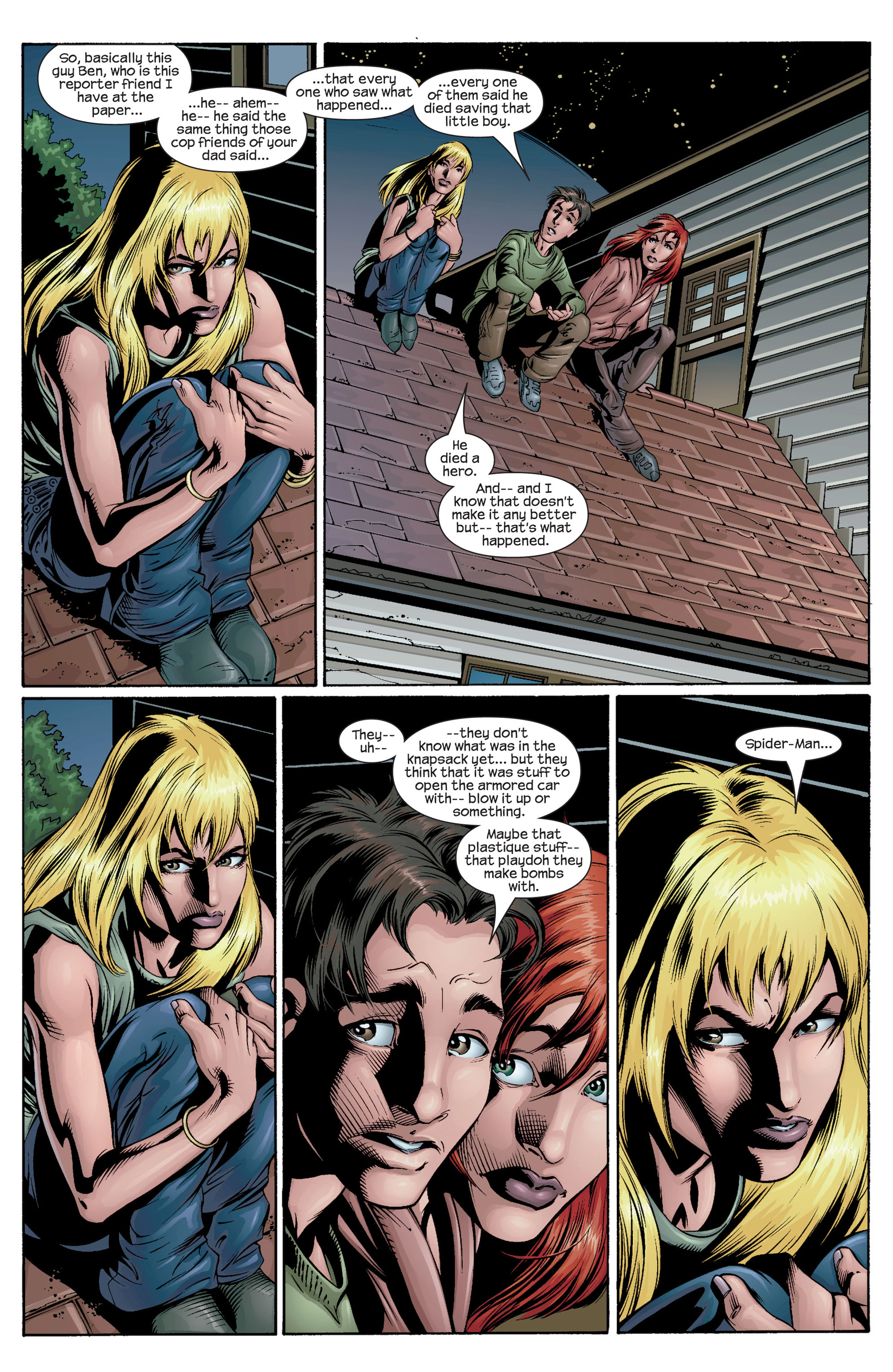 Read online Ultimate Spider-Man (2000) comic -  Issue #31 - 18