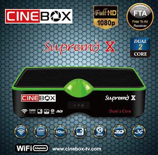 Cinebox%2BSupremo%2BX - CINEBOX SUPREMO X NOVA ATUALIZAÇÃO - 22/01/2018
