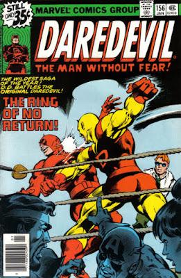 Daredevil #156, DD vs DD