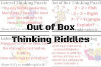 Out of Box Thinking Riddles for Teens with Answers