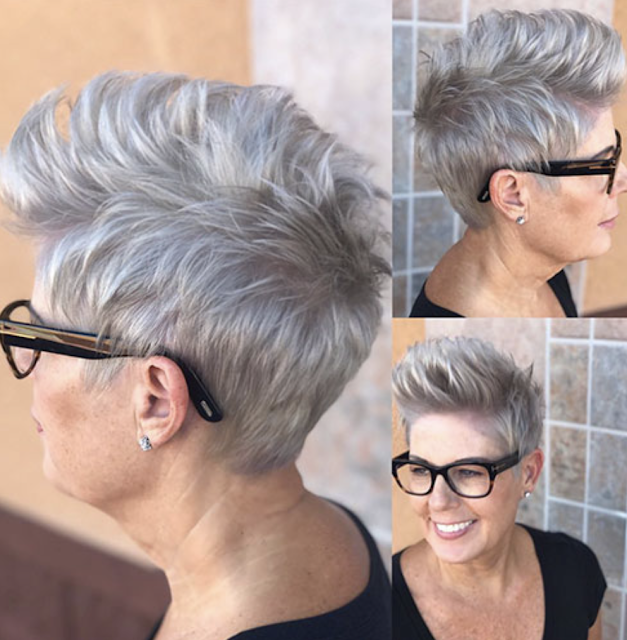 2019 short haircuts for women over 50