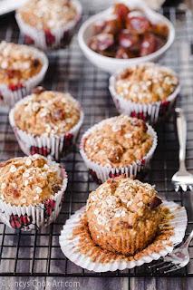 Banana Dates Oatmeal Muffins recipe