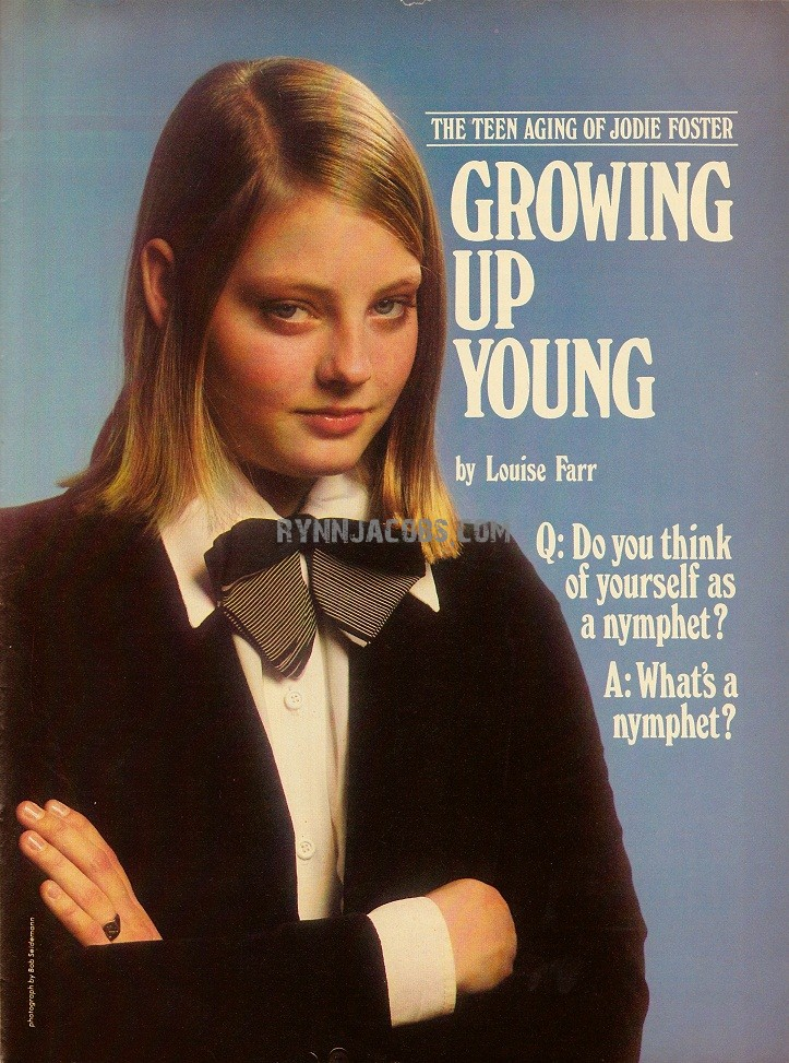 Jodie Foster Young Pictures