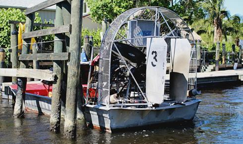 Airboat Florida Everglades City