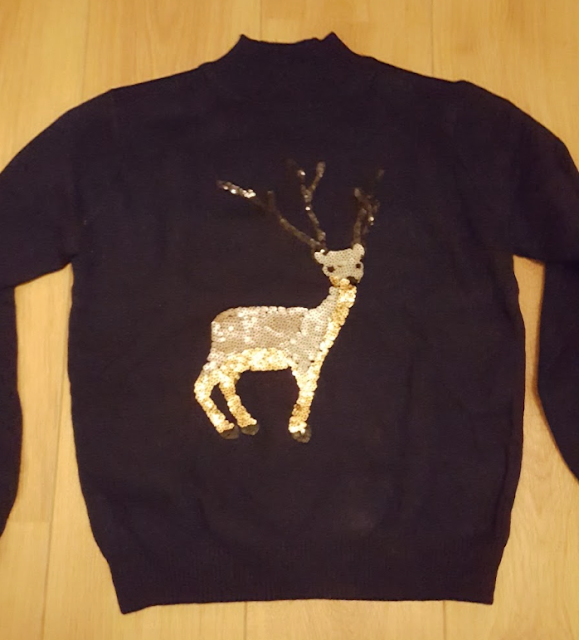 Reindeer sweater from Dresslily
