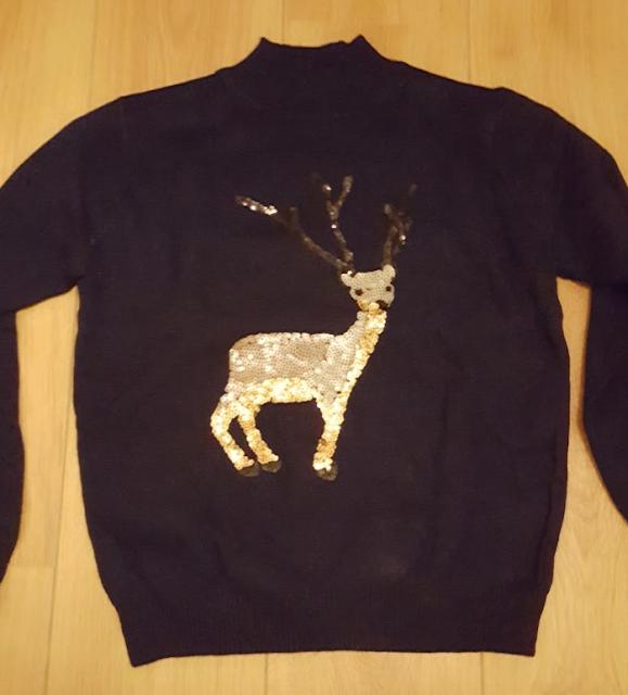 Reindeer sweater from Dresslily