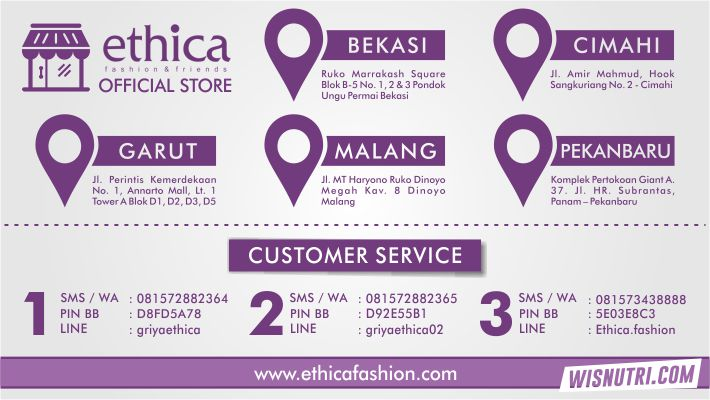 Alamat Ethica Fashion