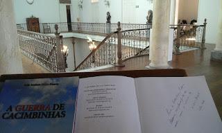 Pinheirense Nikão Duarte no Conversas sobre Livros em Pelotas