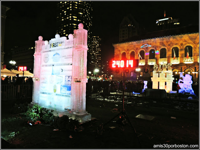 Esculturas de Hielo en Boston: Patrocinadores