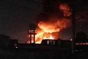 Kebakaran di Setia Kawan Gang Sawo RW.12