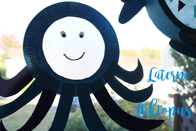 DIY Oktopus Laterne selber machen Jules kleines Freudenhaus