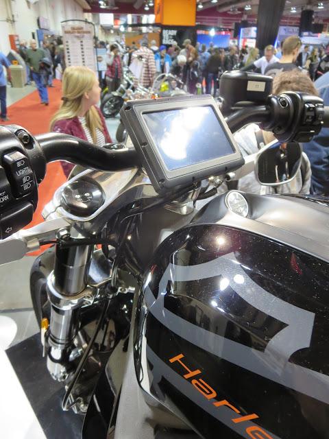 Harley-Davidson LiveWire Calgary Show