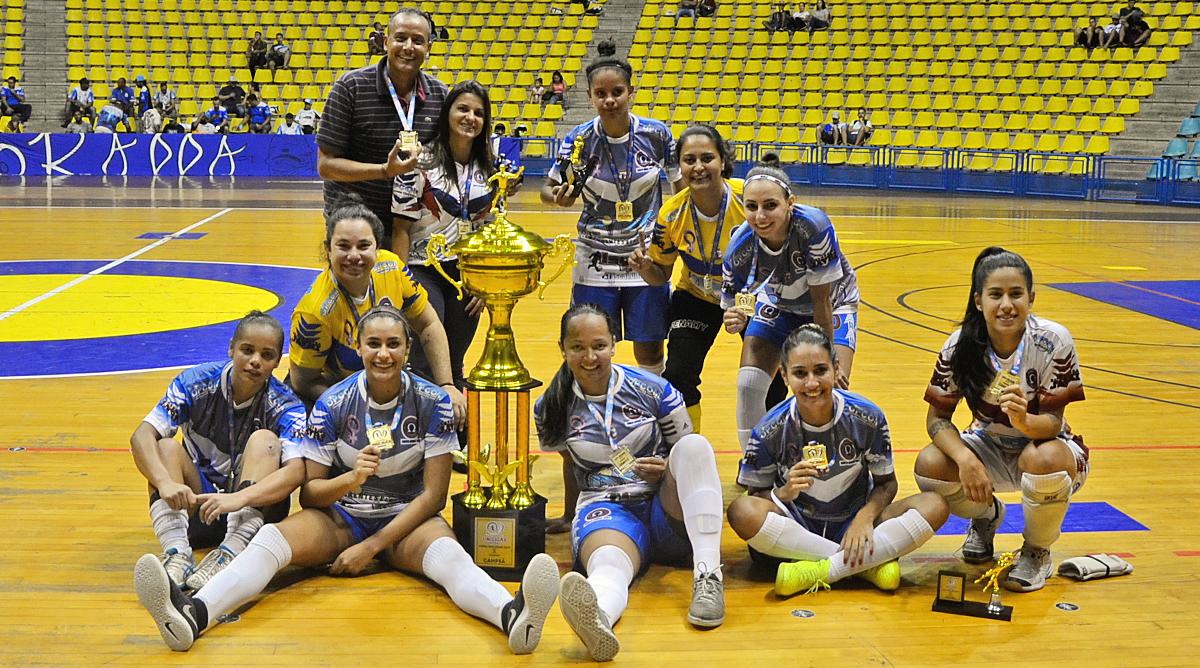 Ômega Futsal de Santo André é campeão da UNILIGAS 2019 na categoria Feminino