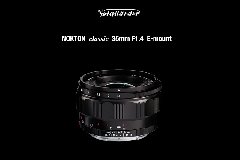 Voigtländer Nokton 35mm f/1.4 FE