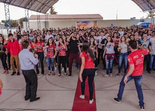Jornada da Juventude da Forania do Curimataú reúne jovens de 5 paróquias em Nova Floresta