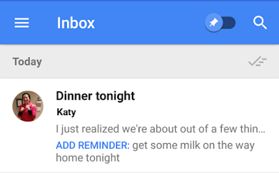 New ways to add Reminders in Inbox by Gmail