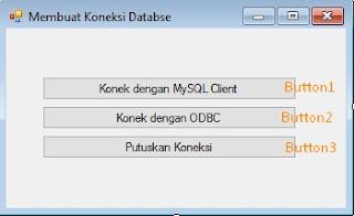 Membuat koneksi vbnet database mysql