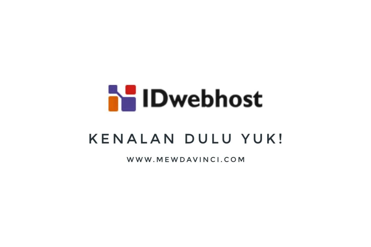 IDwebhost web hosting terbaik