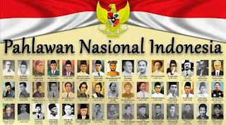 para pahlawan Indonesia
