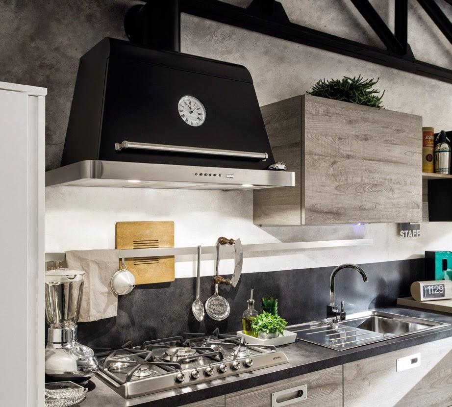 Una cucina urban style coffee break the italian way - Cucine urban style ...