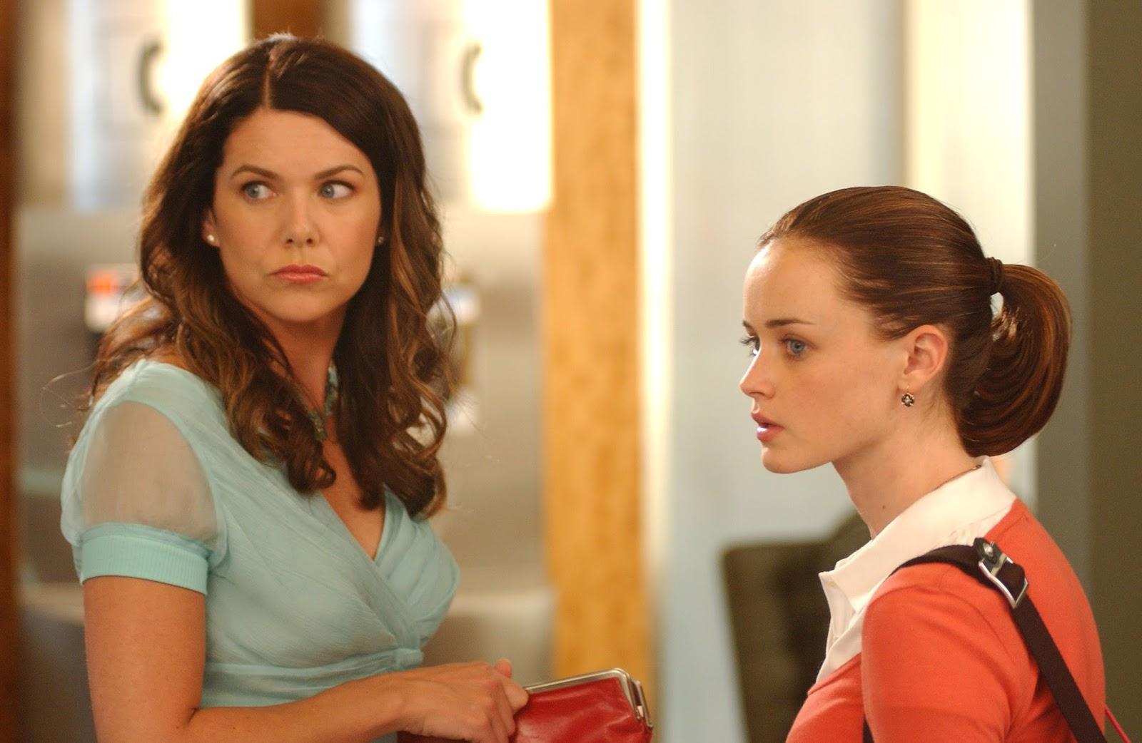 Lorelai y Rory en 'Gilmore Girls'