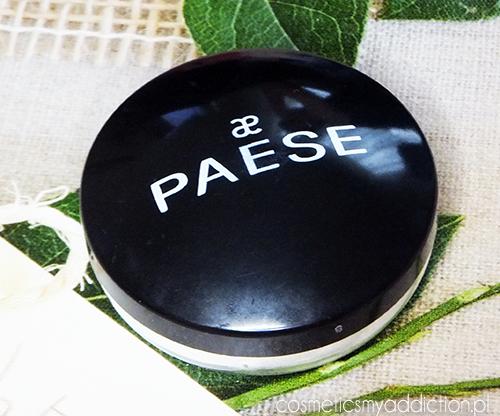 PAESE | Najlepszy puder matujący - puder ryżowy