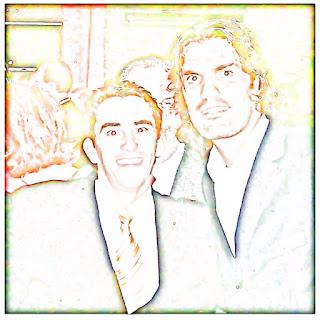 Leonardo César Brocker e Fernandão - Festa de Aniversário do Inter (2007)