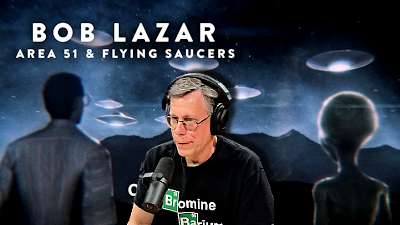 Bob Lazar, Jeremy Corbell and Alien Craft at Area 51 – An Interview With Joe Rogan
