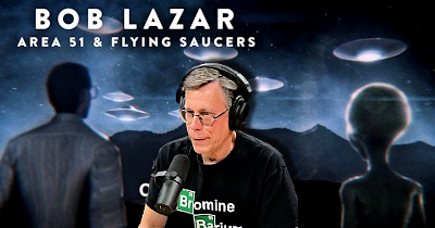 Bob Lazar, Jeremy Corbell and Alien Craft at Area 51 – An Interview By Joe Rogan