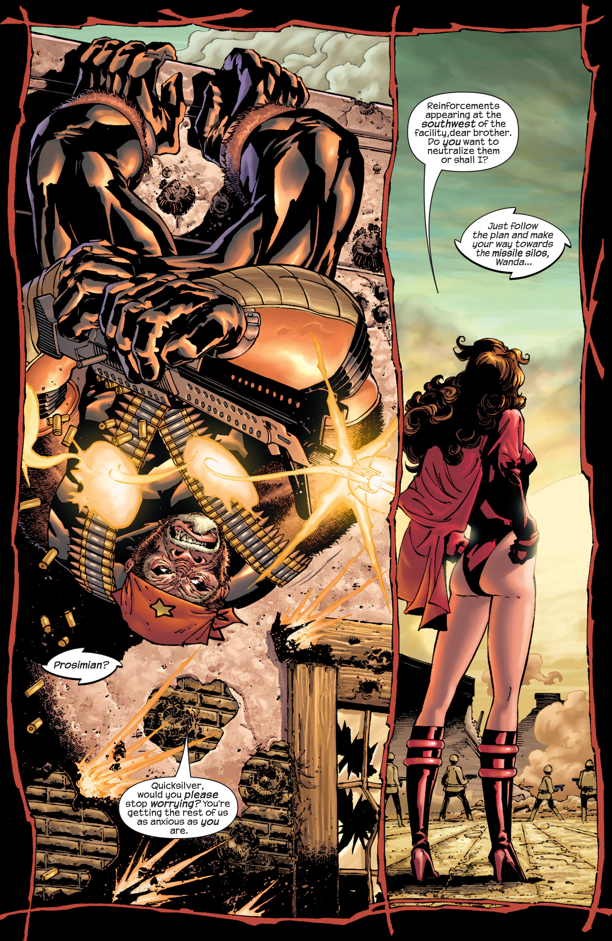 Read online Ultimate X-Men comic -  Issue #22 - 6