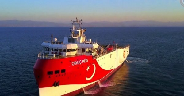 Anadolu: «Έτοιμο να αποπλεύσει προς έρευνες το Oruc Reis»
