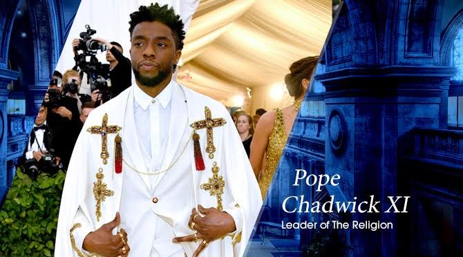 Met Gala Fantasy MMXVII: Chadwick Boseman | Random J Pop