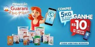 Cadastrar Promoção Açúcar Guarani 2018 Compre Ganhe Crédito Celular