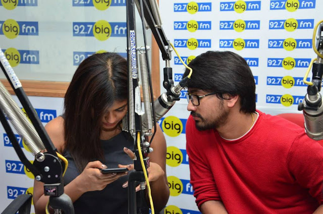 Hebah Patel Andhhagadu Movie Team at BIG FM Photos
