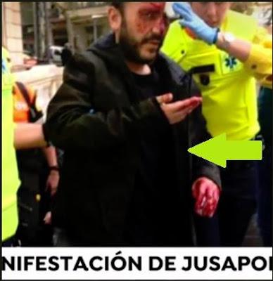 jusapol, manifestación