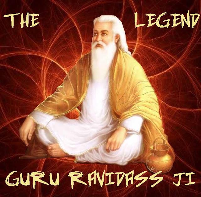 Shri Guru Ravidass Ji Picture ~ The Legend Guru Ravidass Ji