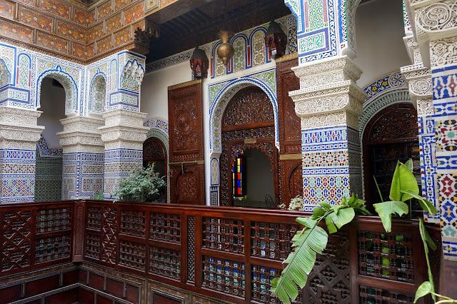 Moroccan architecture - Riad
