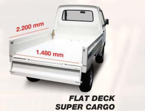 Perbedaan Mobil Suzuki Carry Pick-Up Flat Deck Dengan Wide Deck