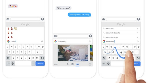 Google releases keyboard app Gboard for iPhone